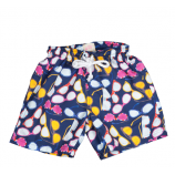 Short Infantil Gafas Azules